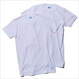 [ヘルスニット×ゴーアウト]CREW NECK SHORT SLEEVE 2P T-SHIRTS
