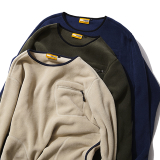 [グリップスワニー]POLARTEC CAMP POCKET FLEECE CREW