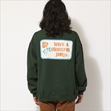 [ゴーウエスト]GRATEFUL DAY CREW SWEAT/SOUVENIR SERIES