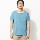 [ゴーウエスト]LOOSE NECK S/S TEE / 14/1 HEAVY WEIGHT JERSEY