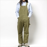 [ゴーウエスト]PRIMITIVE OVERALLS/SULFIDE DYE LIGHTozDUCK&10oz TWILL