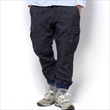 [ゴーウエスト]ARMY RIB PANTS/ W/C JOG DENIM