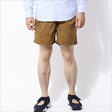 [ゴーウエスト]EG SHORTS / NYLON RIP TAFFETA -salt shrinking-