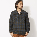 [ゴーウエスト]OUT OF BOEDER SHIRTS / WOOL CHECK