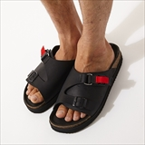 [ホーボー]COW LEATHER SANDAL with FIDLOCK® BUCKLE