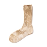 [ホーボー]TIE-DYED COTTON CREW SOCKS