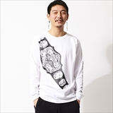 [ハオミン]CHAMPION BELT L/S Tshirt