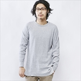 [ヘルスニット]Double Face Thermal Military L/S