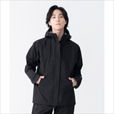[キウ]2WAY STRETCH RAIN JACKET<MIGHTY>