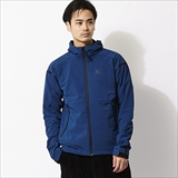 [モンチュラ]WIND FLEECE HOODY JACKET