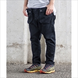 [ネイタルデザイン]G55 Sarouel Flap Denim Pants