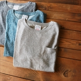 [ネイタルデザイン]CREW NECK HEMP TEE HEATHER
