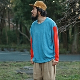 [ネイタルデザイン]HEMP LONG SLEEVE TEE WIDE