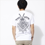 [ニューカレントワークス]GRIND PENCIL×NCW TSUREEMASON T-shirt INTENSE
