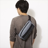 [オフィシャル]OFFICIAL/TACTICAL GREY SHOULDER/HIP BAG