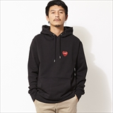 [ポーラ]FURRY HEART EMBROIDERED HOODIE