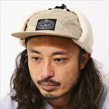 [ポーラ]LASSO 5PANEL FLIGHT NYLON EARFLAP CAP