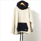 [ポーラ]90'S SHEEP BOA FLEECE HOODIE