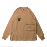 [ポーラ]SUMMT HEAVY WEIGHT DOUBLE POCKET L/S TEE
