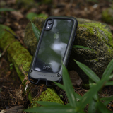 [ルート][iPhone XR専用]ROOT CO. Gravity Shock Resist Case +Hold.