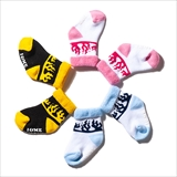 [ルツボ]FLAME BABY SOCKS SET(RUTSUBO×I&ME)1Pack 3Pieces