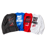 [ルツボ]NICE ART JONES LS T-SHIRTS(RUTSUBO×ALLRAID)