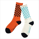 [ルツボ]CHECKER SOCKS