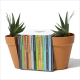 [サックユーケー]【suck uk】Planter Bookends (Plastic)