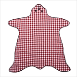 [サックユーケー]Bear Shaped Picnic Rug