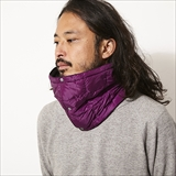 [タイオン]DOWN NECK WARMER