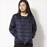 [タイオン]CREW NECK W-ZIP DOWN JACKET (MENS)
