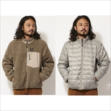 [タイオン]DOWN × BOA REVERSIBLE DOWN JKT