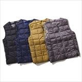 [タイオン]CREW NECK W-ZIP DOWN VEST(WOMENS)