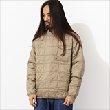 [タイオン]CREW NECK POCKET DOWN P/O
