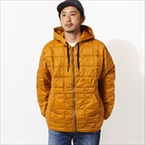 [タイオン]OVER SIZE W-ZIP DOWN PK