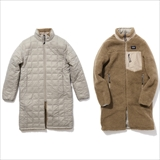 "[タイオン]""DOWN × BOA""REVERSIBLE COAT(WOMEN)"