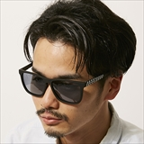 [ダンシェイズ]RECOIL Black Soft x Light Black Smoke Polarized YASUO AIUCHI designed model