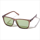 [ダンシェイディーズ×ゴーアウト]RECOIL Gloss Gray Clear × Light Green Polarized Lens