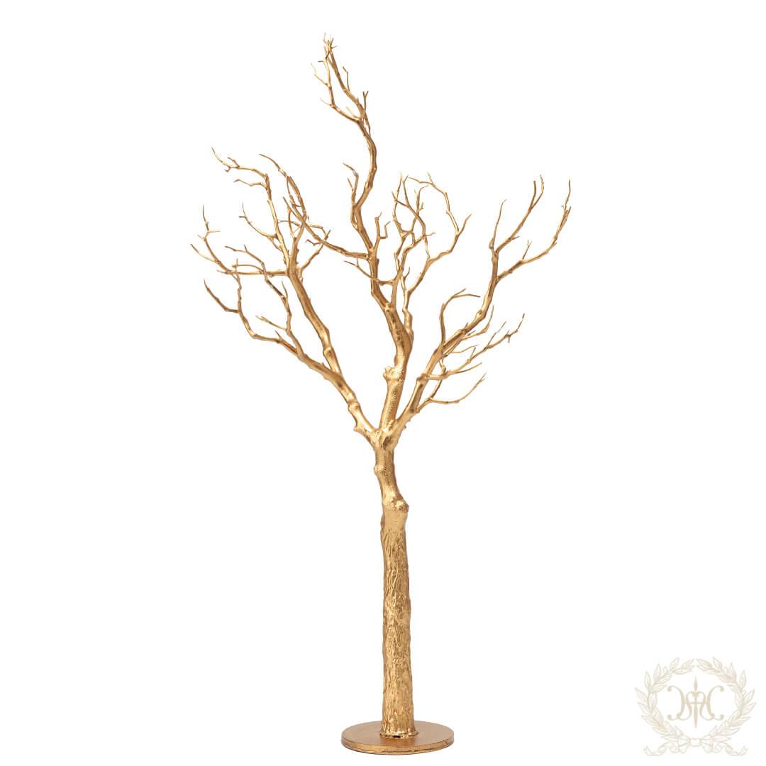 トゥイッグテーブルツリー/ゴールド65cm