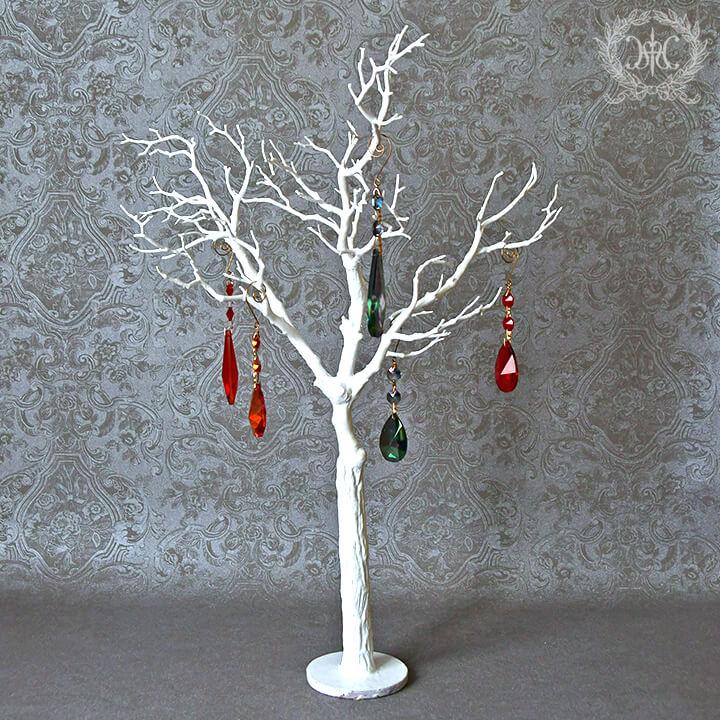 トゥイッグテーブルツリー/ホワイト65cm