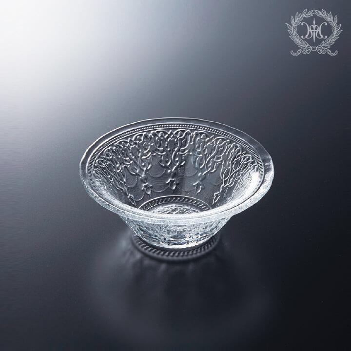アラベスクガラスボウルSセット/10cm