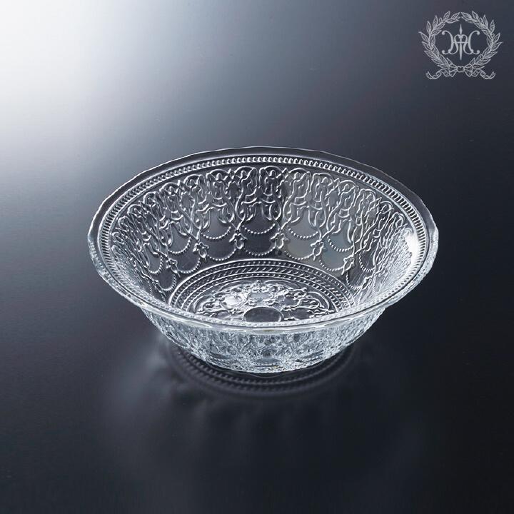 アラベスクガラスボウルM/16cm
