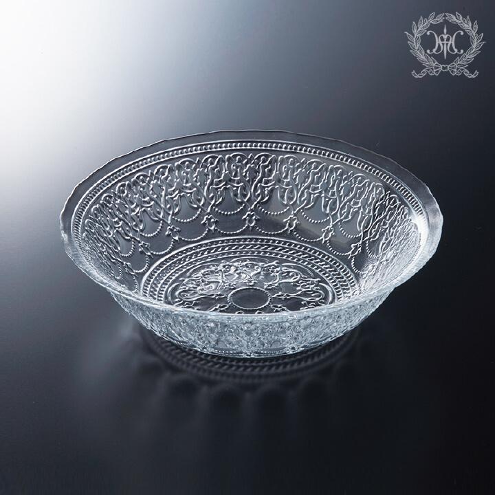 アラベスクガラスボウルL/19cm
