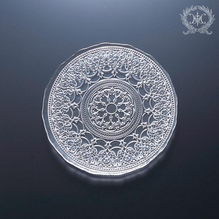 アラベスクガラスプレートSセット/18cm