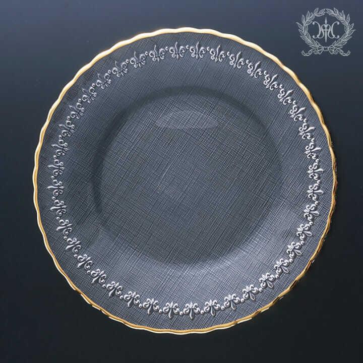 リムフルールドリス ガラスプレートL 27cm
