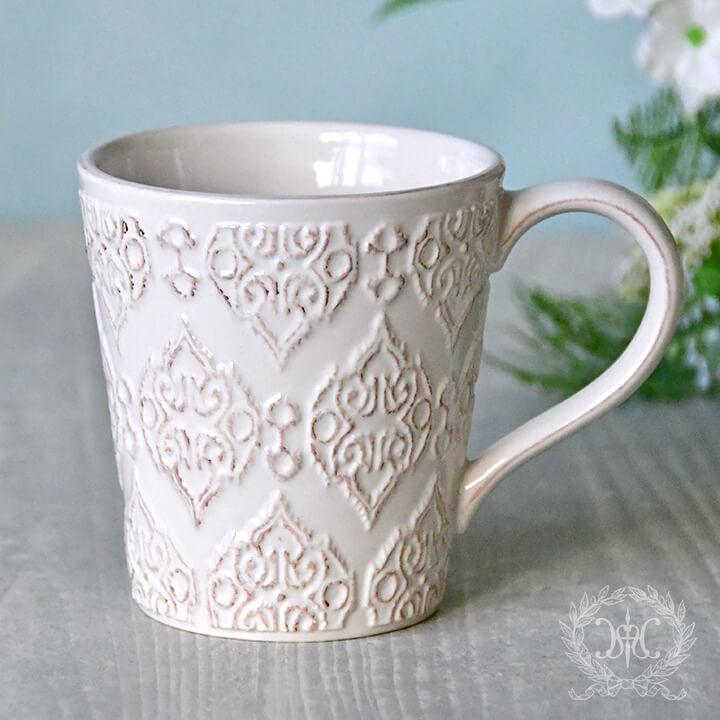 トリアノンマグカップ/ホワイト
