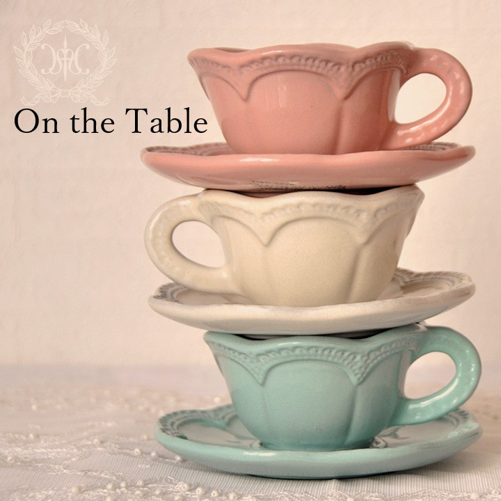 【On the Table】 テーブルウェア特集