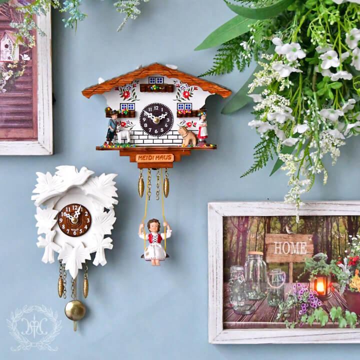 ドイツ製ハト時計/ハイジホワイトハウス