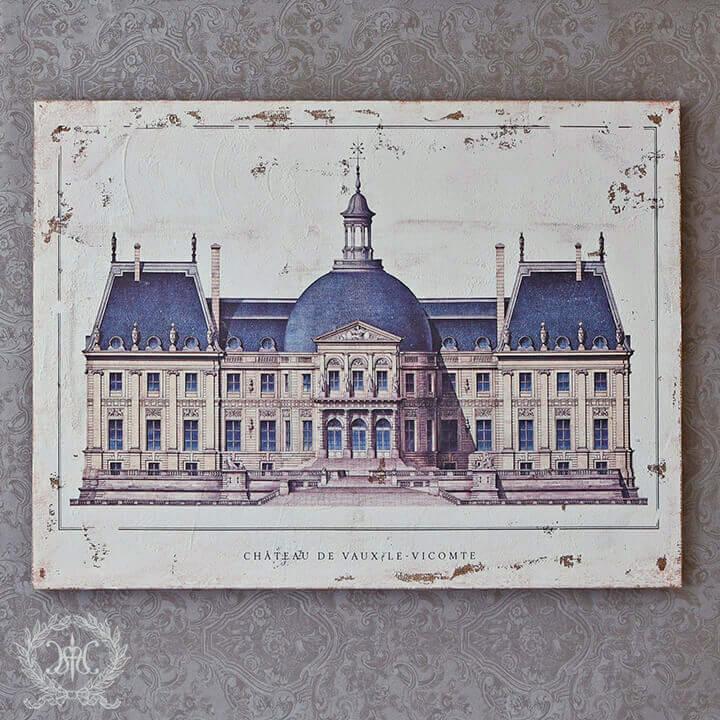 アートパネル Lサイズ/CHATEAU DE VAUX-LE-VICOMTE