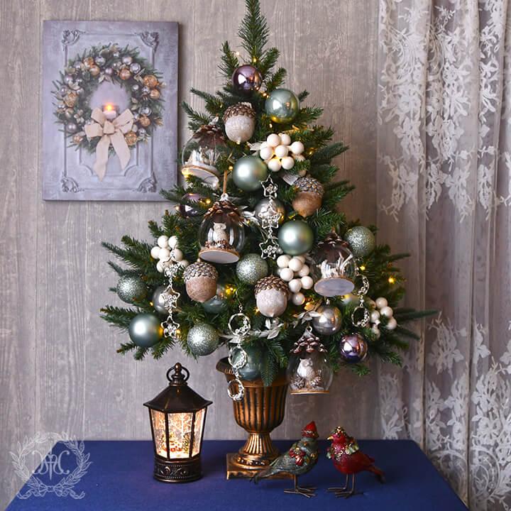 クリスマスツリーセット90cm/シャインフォレスト